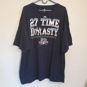 2009 NY Yankees 27 time dynasty world series